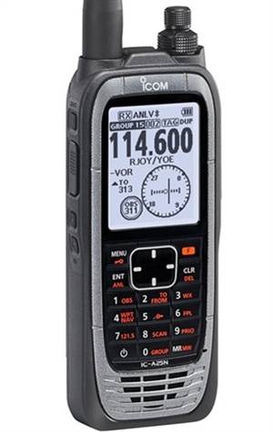 Icom IC-A25NE   +   GPS, VOR & Bluetooth