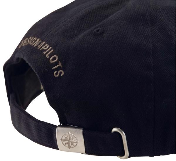 Pilot Cap Cotton - Design 4 Pilots - Black