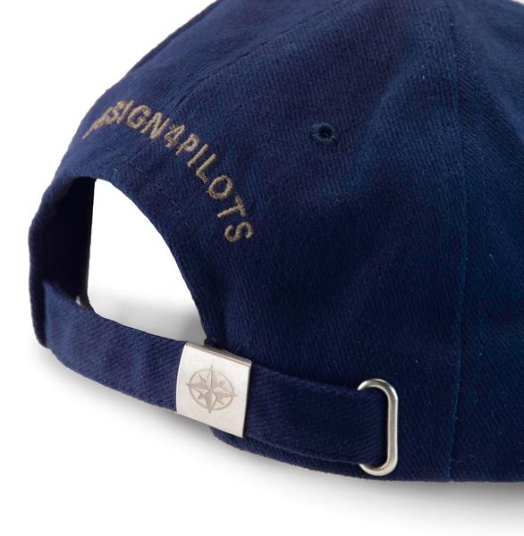 Pilot Cap Cotton - Design 4 Pilots - Navy