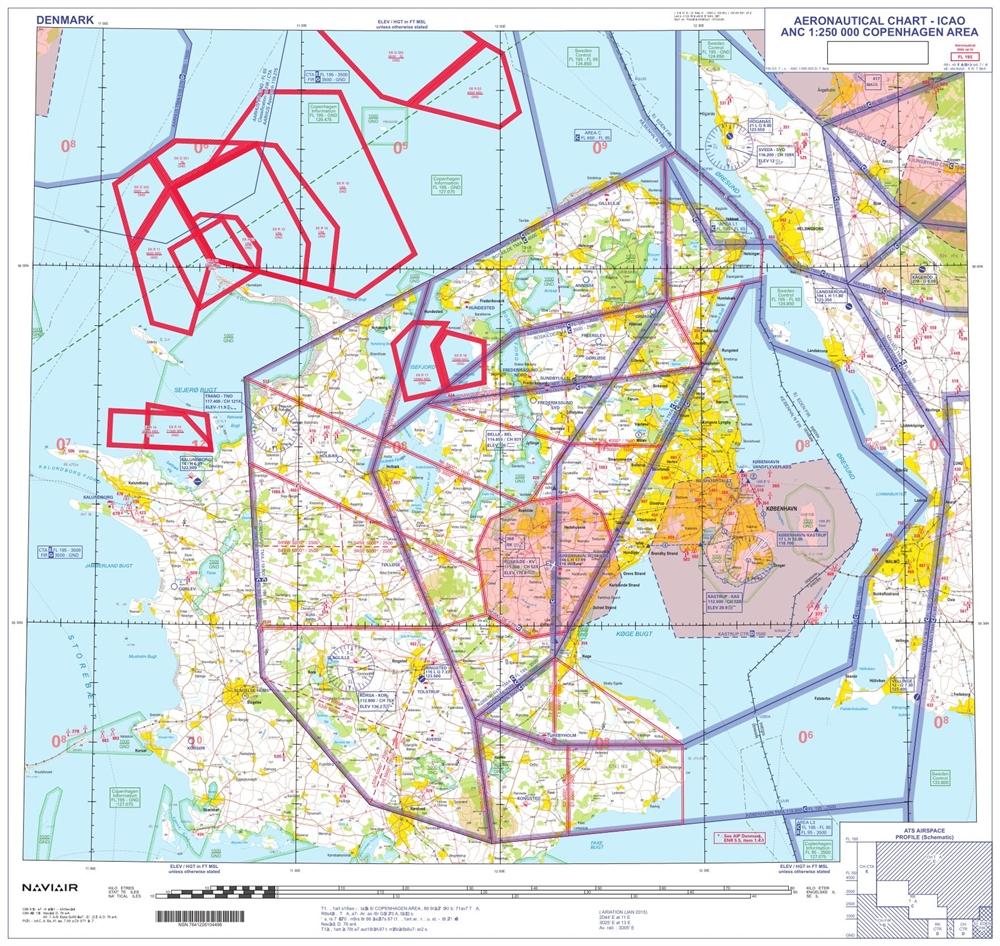 Copenhagen Area 1 250 000 Plano