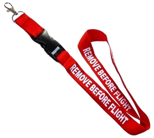 "Lanyard ""Remove before flight"""