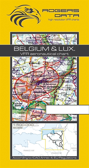 Rogers Data - Belgium & Luxembourg VFR Chart