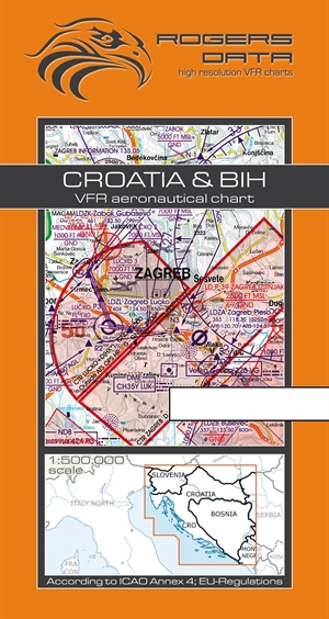 Rogers Data - Croatioa & BIH VFR Chart