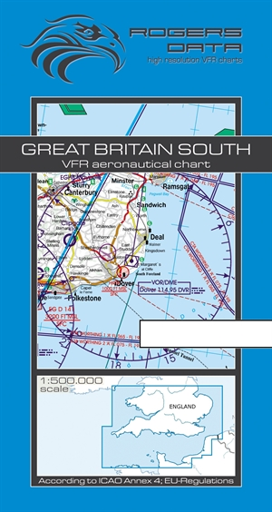 Rogers Data - Great Britain South VFR Chart