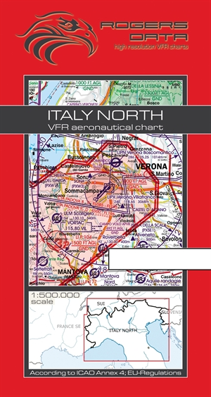 Rogers Data - Italy North VFR Chart