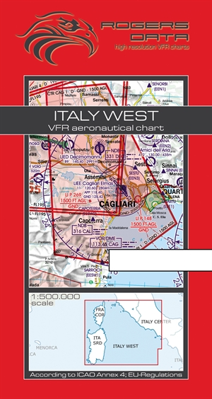 Rogers Data - Italy West VFR Chart