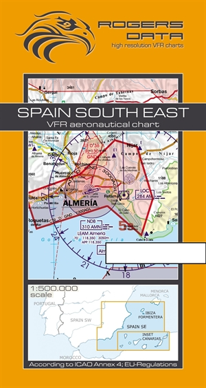 Rogers Data - Spain South East VFR Chart