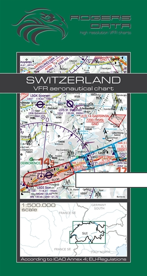 Rogers Data - Switzerland VFR Chart